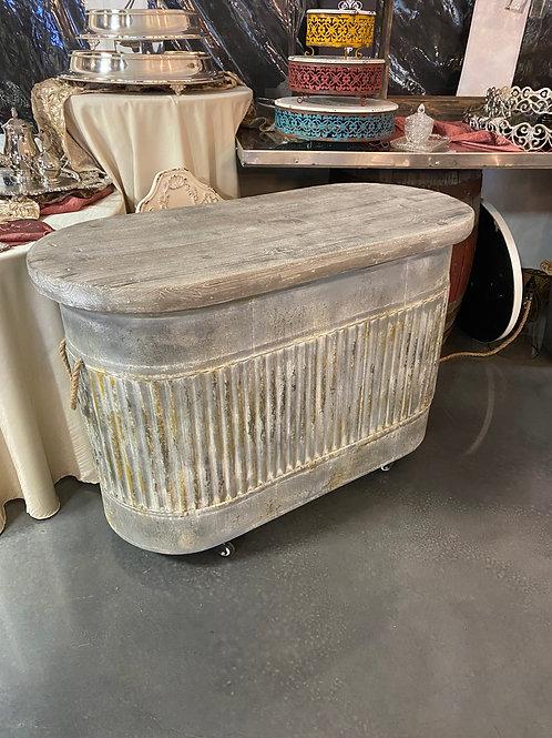 Vintage Watering Trough Table