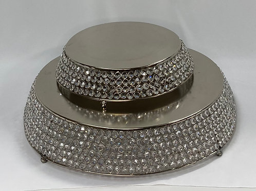 Bling Round Cake Stands