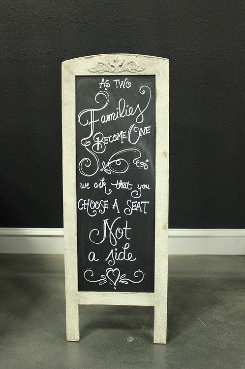 Chalkboard Easel Stand