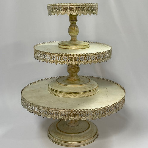 Vintage Lace Cake Stands