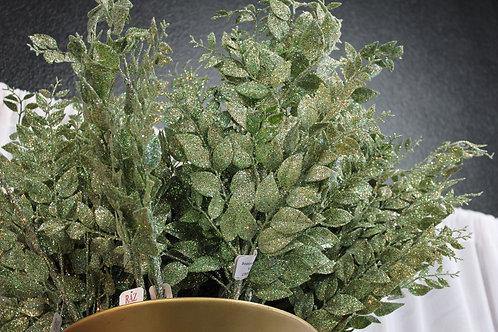 Sage Glitter Leaf Sprays