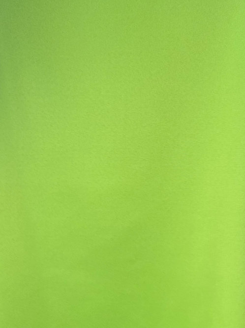Lime Green Polyester