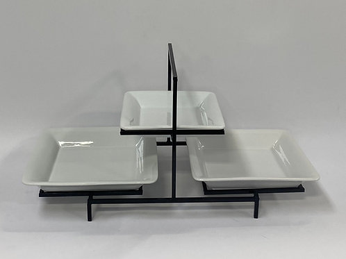 Symetric Stand with Square Platters