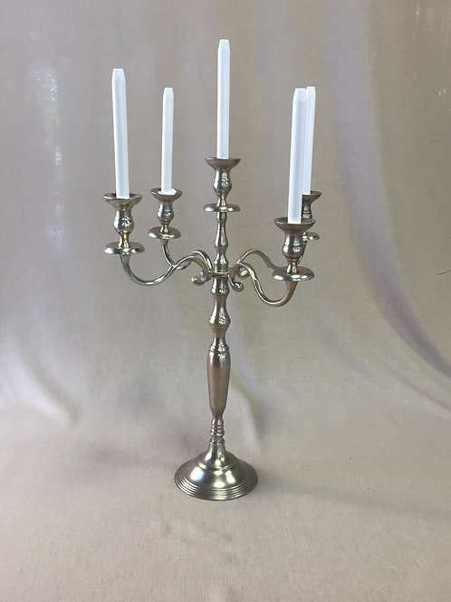 "Gold Candelabra 24"" Tall"