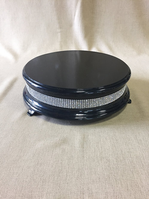 Black Diamond Cake Stand