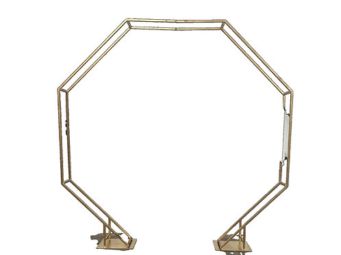 Gold Octagon Archway