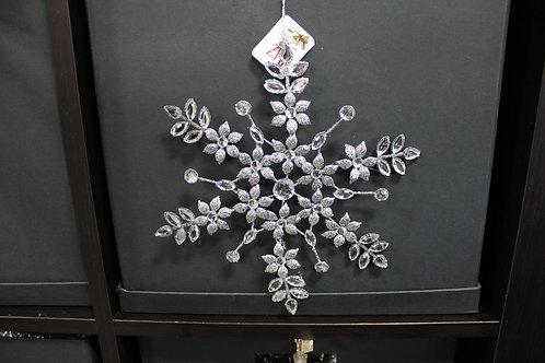 Silver Rhinestone Snowflake