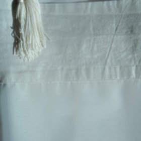 Ivory Sheer with Tassles