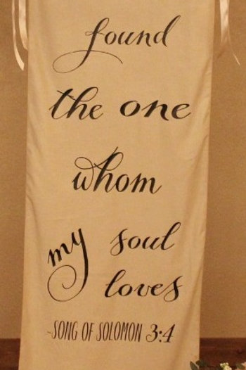 Song of Solomon drape