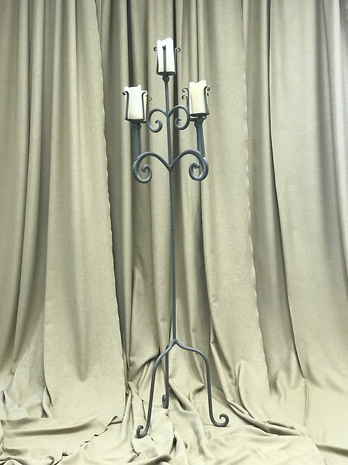 5 Light Pillar Candelabra