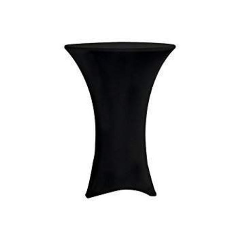 Spandex linen for cocktail tables