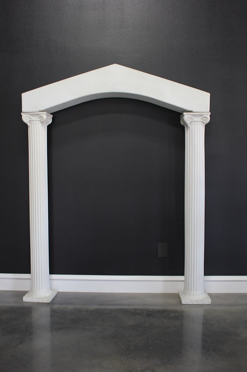 """Arch Topper for 72"""" Column"""