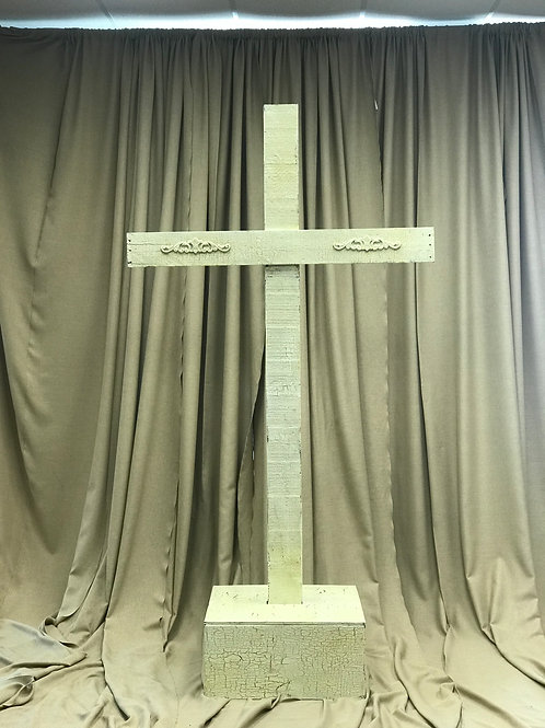 Vintage Wooden Cross