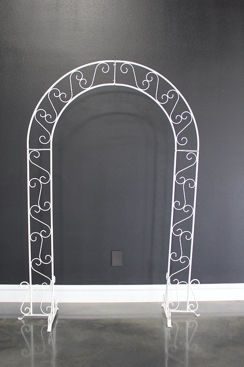 White Traditional Arch