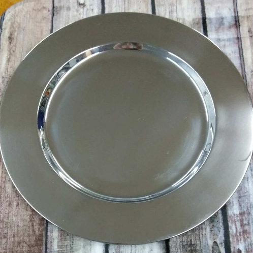 Stainless Steel Charger Plates