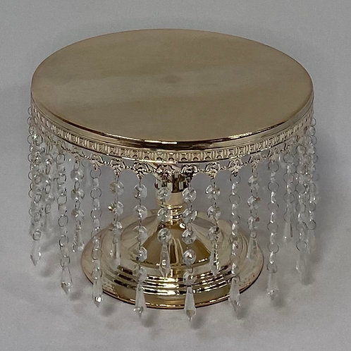 Cake Stand with Hanging Bling