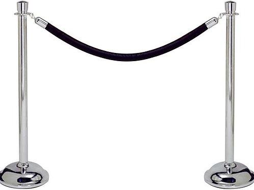 Black Velvet Rope 8'