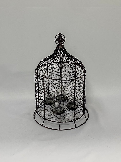 Bird Cage with hanging lights