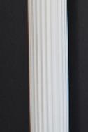 White Plastic Column