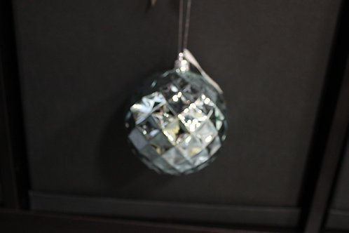 Light Blue Shatterproof Ornament