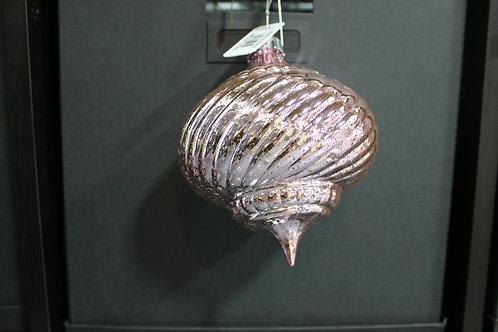 Pink Mercury Glass Shatterproof Ornament