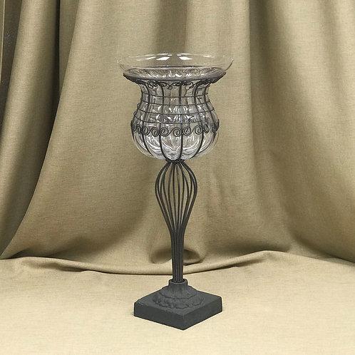 "Rust Duet Vase 14"" x 24"""