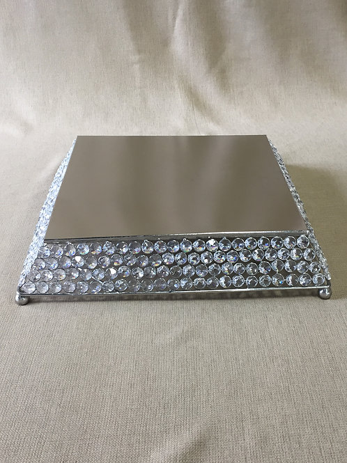 Bling Square Cake Stand