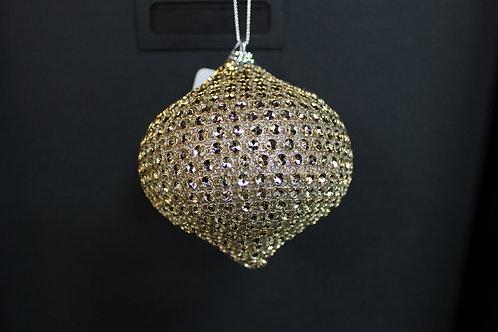 Gold Rhinestone Ornament