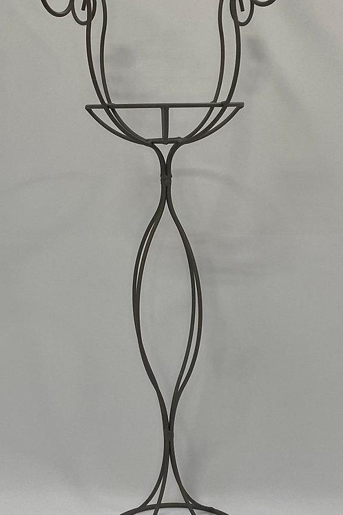 4 Light Table Candelabra with Basket