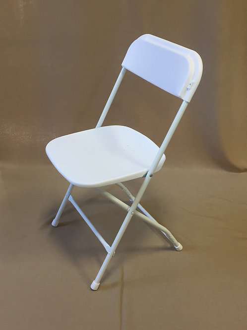 White Dining Height Chair