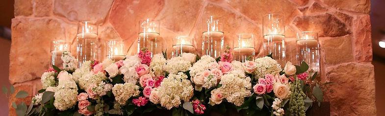 Blush & White wedding floral