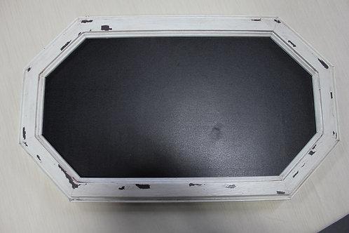 "Octagon Chalkboard 11"" x 9"""