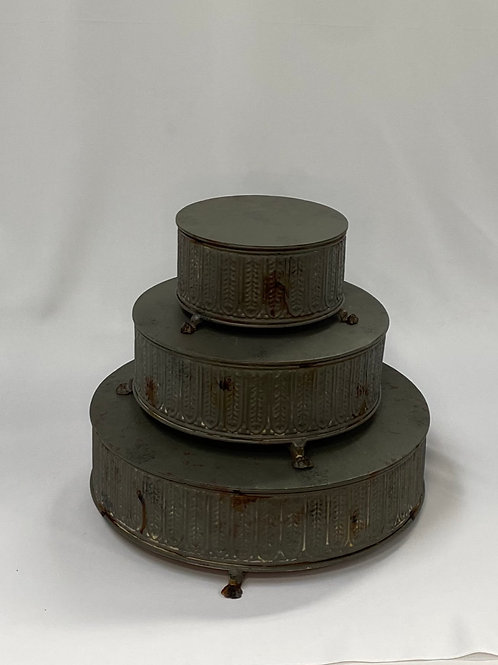 Metal Footed Cake Stand