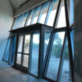 New windows at Bailey-Matthews National Shell Museum on Sanibel Island Florida