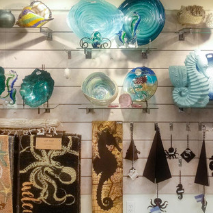 Beautiful decor for sale at Bailey-Matthews National Shell Museum