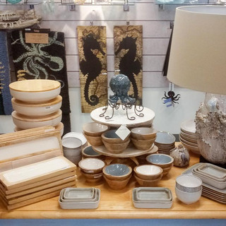 Home goods for sale at Bailey-Matthews National Shell Museum