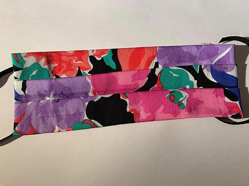 3-Ply Floral Print Mask