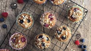 Blueberry & Raspberry Muffin Recipe