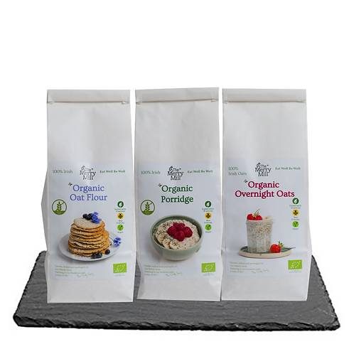 Full range of The Merry Mill products