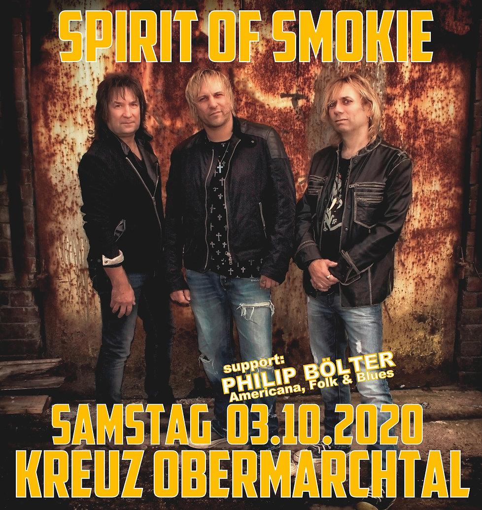 Kreuz Obermarchtal SPIRIT OF SMOKIE 2020