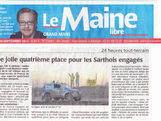 Les articles de presse 2012