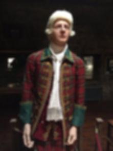 Outlander wax figure