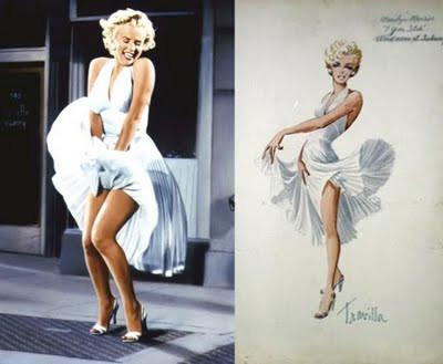 Marilyn Monroes Travilla costumes