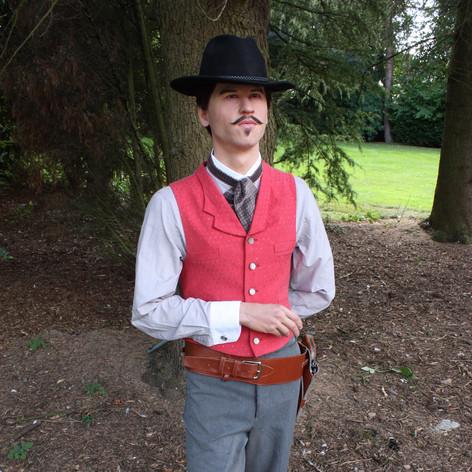 Doc Holliday wax figure
