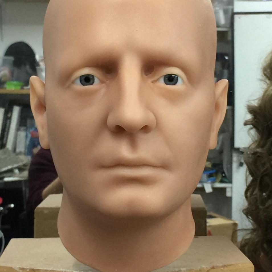 Bonnie Prince Charlie wax head