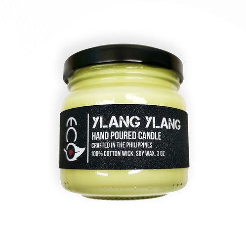 Ecò Ylang Ylang and Amber Soy Wax Candle