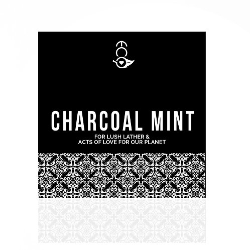 Charcoal Mint Hand-Crafted Soap 185G