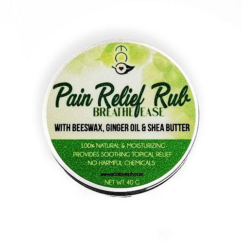 Ecò Pain Relief Rub - Breathe Ease 40G