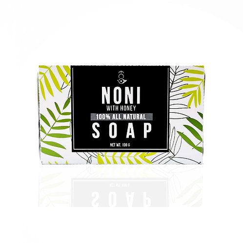 Herbal Natural Noni Soap with Honey 110g