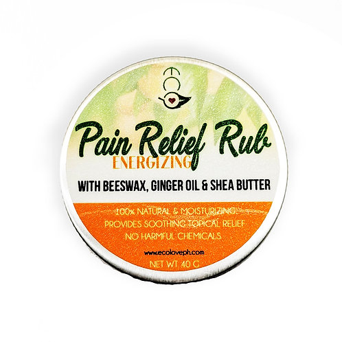 Ecò Pain Relief Rub - Energize 40G